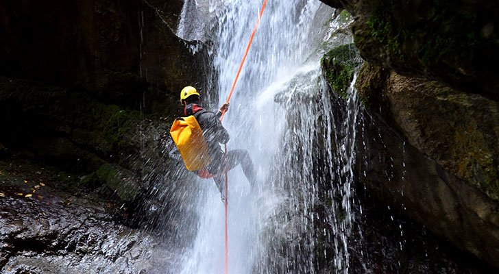 Definition: Was ist Canyoning?